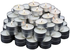 DE-Ultimate Paraffin wax White Candle
