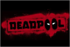 Rawpockets Wall Stickers  ' Deadpool Banner '