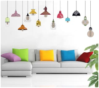 Decal o Decal ' Hanging Lamps ' Wall Stickers