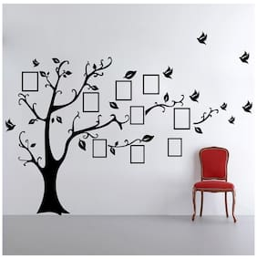 Decor Kafe Photo Frame Tree Wall Decal (DKHS0528S)
