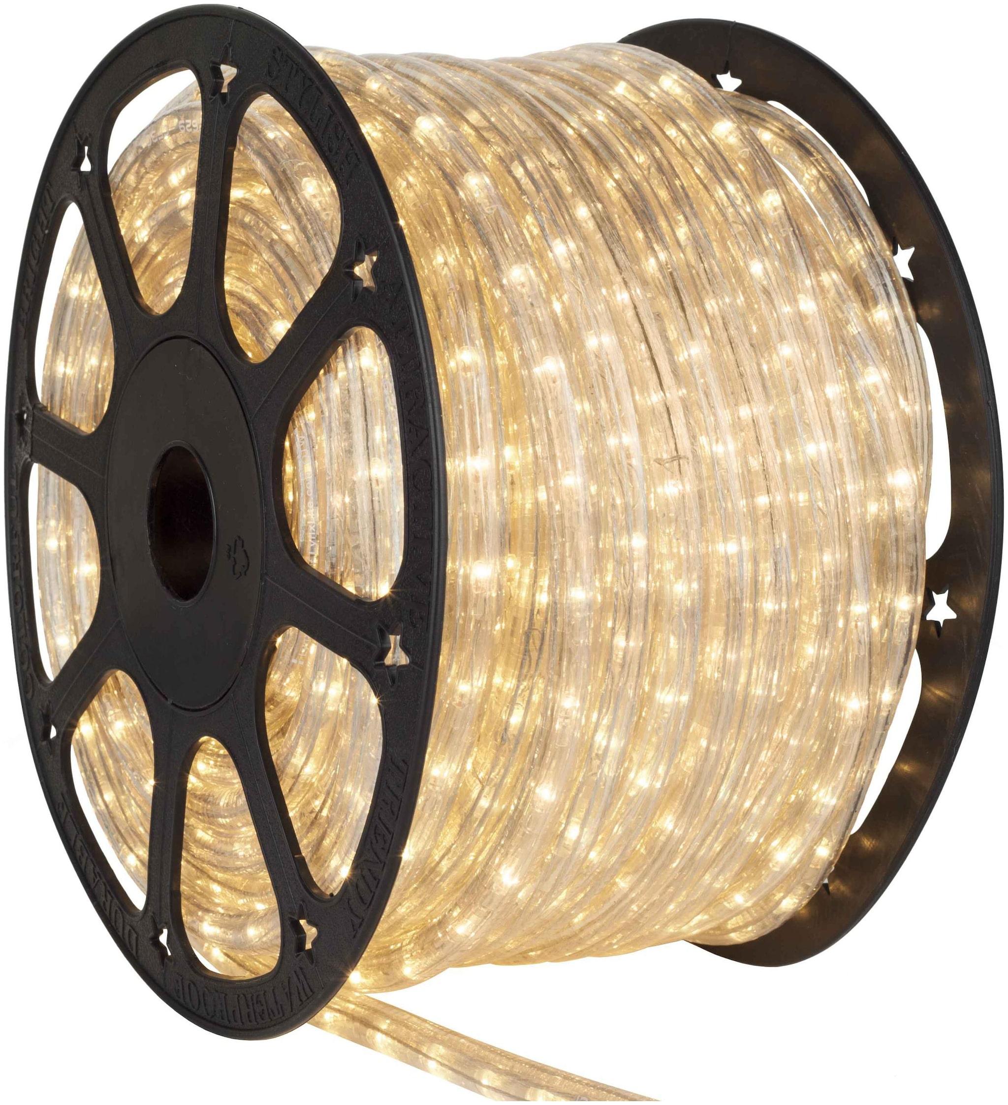 Decorative Yellow SMD Rope Light 5mtr Diwali, Eid & Christmas Light.SMD (Better...