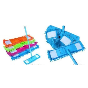 Decorcrafts Microfiber Cleaning Dry And Wet Mop