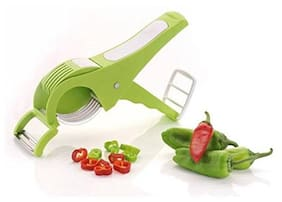 Default 2 In 1 Multi Cutter Vegetable/Fruit Cutter And Peeler