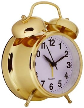 DEGOSH Steel Analog Table clock ( Set of 1 )