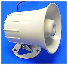 Dehmy industrial siren police tone sound(Emergency Tone) range 1km for industries, Schools,Colleges, Hospitals etc.