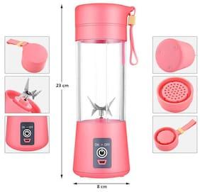 DELHI ELECTRONIC Portable Multi-Purpose Electric Personal Juicer Sports Bottle Protein Shaker Mixer Smoothie Maker Blender Portable