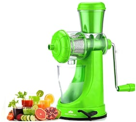 Deluxe Fruit and Vegetable Juicer with Steel Handle and Waste Collector with Vaccum Locking System Hand Juicer, Fruit Juicer for All Fruits, Juice Maker Machine, Juicer Hand Machine