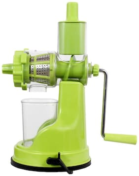 Deluxe White Fruit Hand Juicer with Juice Collector