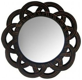 Desi Karigar Wood Mirror - Set of 1