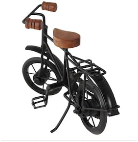 Desi Karigar Decorative Miniature of Metal Cycle/Bycycle