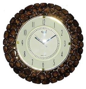 Desi Karigar Brown Wall Clock