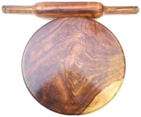 Wooden Chakla Belan-Set Of 2
