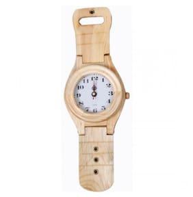 Desi Karigar Cream Wall Clock