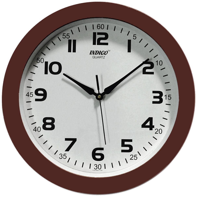 Design O Vista Brown Wall clock