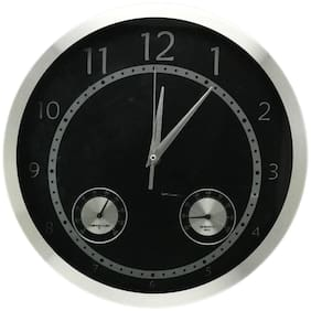 Design O Vista Metal Analog Wall clock ( Set of 1 )