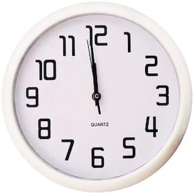 Design O Vista Plastic Analog Wall clock ( Set of 1 )