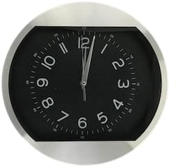 Design O Vista Black Wall clock