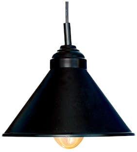 Design Villa Black Color Iron Pendant Ceiling Hanging Lamp