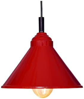 Design Villa Red color Iron Pendant Ceiling Hanging Lamp