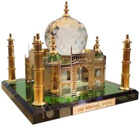 Dharohar The Heritage 24K Gold Plated Crystal Taj Mahal Medium