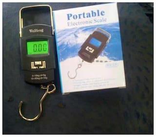 Digital 50Kg Weighing Scale Heavy Duty Portable, Metal Hook