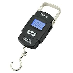 Digital 50kg weight machine Portable Hanging Luggage Kitchen Weighing Scale