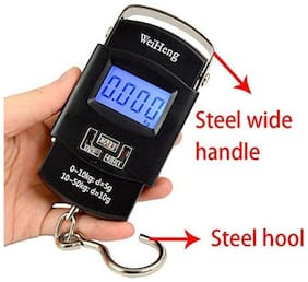 Digital 50kg Portable Hanging Luggage Kitchen Weighing Scale