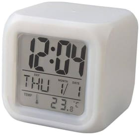 TAHIRA FASHION White Table clock