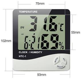 BAZAAR GALI White Table clock