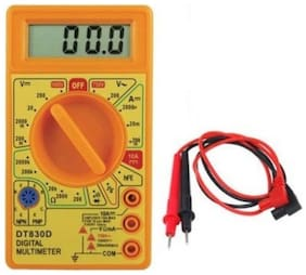 Digital Multimeter Voltage Amp Current Resistance Meter