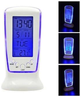 MARKETWALA Plastic Digital Alarm clock ( Set of 1 )