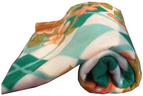 Dingga Decor 1 Pc Single Fleece Printed AC Blanket