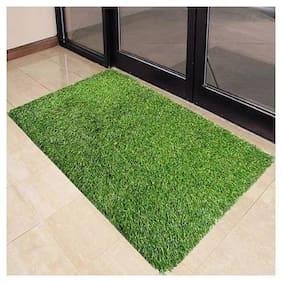 Dingga Decor Artificial Grass Mat,Natural Green Grass - Doormat