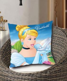 Disney- Athom Trendz- Princess Cinderella- Kids- Cushion Cover-