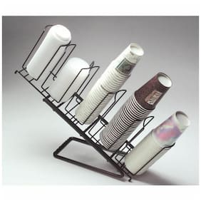 """Dispense-Rite Coffee Cup Dispenser Angled Stand - 13""""L x 6""""W x 10""""H (WR-STAND)"""