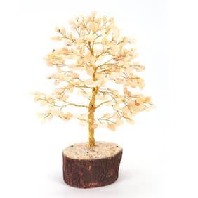 Divine Soul Retreat Citrine Crystal Gem Tree