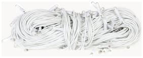 Diwali Outdoor Rice Decorative Fairy String Led Lights 30 ft ( White )