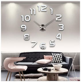 Shopper52 Plastic Analog Wall clock ( Set of 1 )