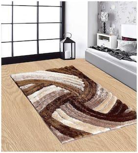 Dizen Star 4D  Polyester Shaggy Carpets (SKU-CARPET-159-3X5)