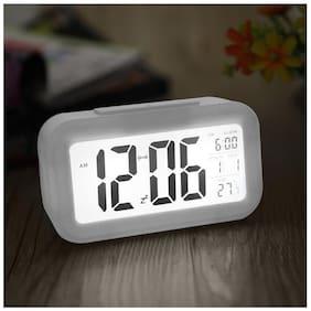 Global Plastic Digital Table clock ( Set of 1 )