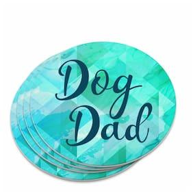 Dog Dad Novelty Coaster Set