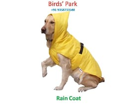 Dog Rain coat export quality for your pet (DOG RAIN COAT) Size 28 No