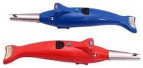 dolphin shape gas lighter pack of 2