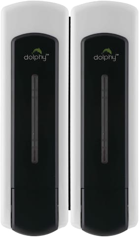 Dolphy ABS Liquid Soap Dispenser-300ml- Set of 2