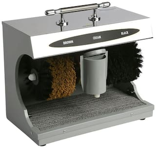 Dolphy Automatic Shoe Shining Machine - Silver