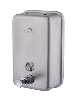 Dolphy Heavy Duty 304 Stainless Steel Soap Dispenser - 1100ml