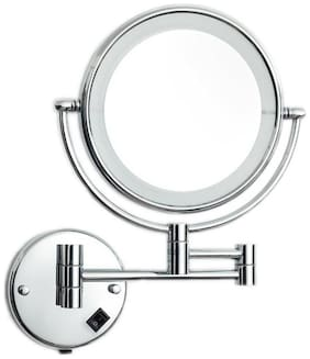 Dolphy LED 5X Magnifying Shaving & Makeup Mirror