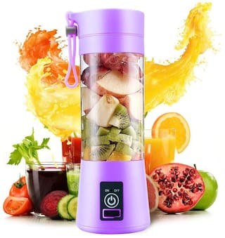 Domazo  Portable Blender,Personal Size Electric Rechargeable USB Juicer Cup,Fruit Mixer Machine for Home and Travel