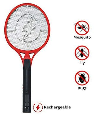 Domazo Mosquito Killing Racket, Electric Insect Killer, Mosquito Bat, Mosquito Swatter, Mosquito Racket, Suitable For All Sorts Of Insects
