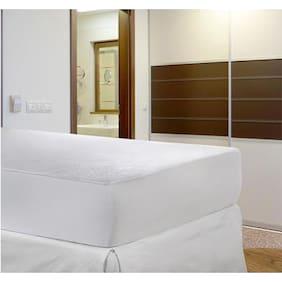 Stoa Paris Single  White Mattress Protector